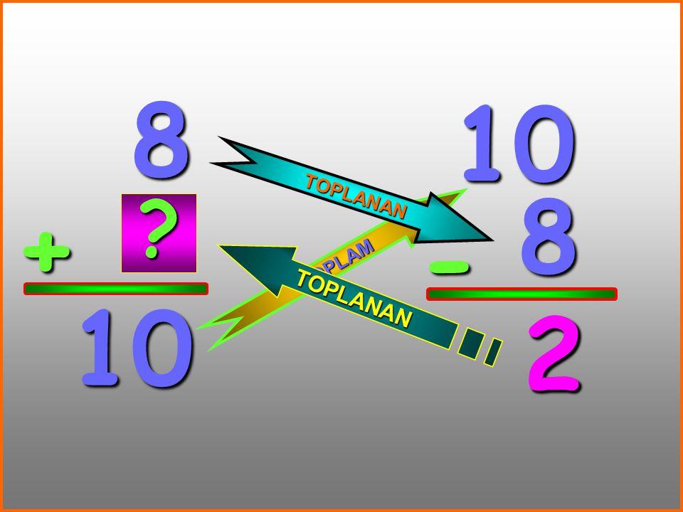 5 + 14 14 5 - 9 T O P L A M TOPLANAN T O P L A N A N ? 9