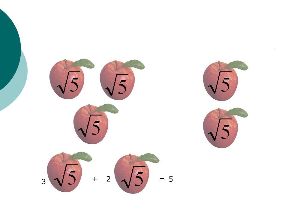 3 +2= 5