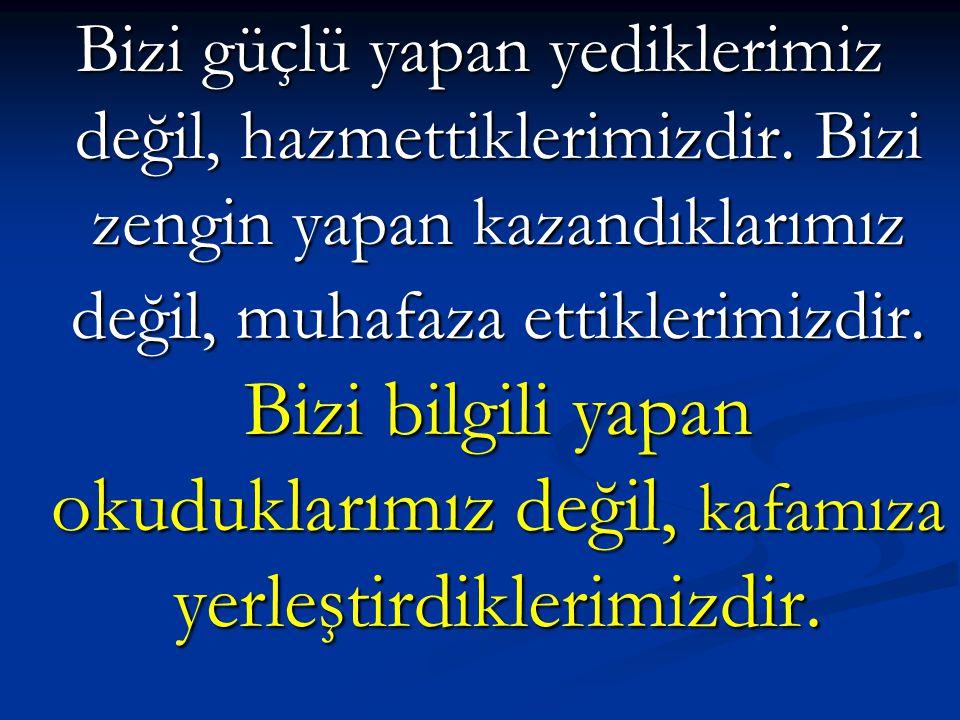 SİVAS KONGRESİ KARARLAR  Başkanı M.Kemal olan Temsil Heyeti, tüm yurdu temsil eden ve Türk Ulusu adına görev yapan bir organ haline getirilmiştir.