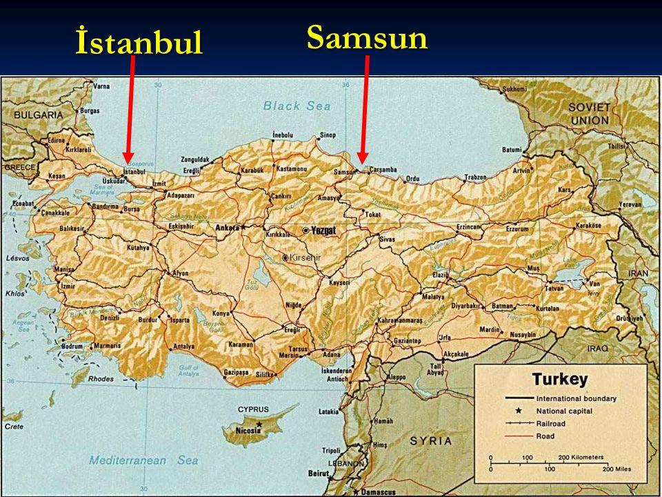 ERZURUM KONGRESİ Kararlar  Ulusal sınırlar içinde vatan bir bütündür, bölünemez.  Vatanı kurtarma konusunda İstanbul Hükümeti başarısız olursa, geçici bir hükümet kurulacaktır.