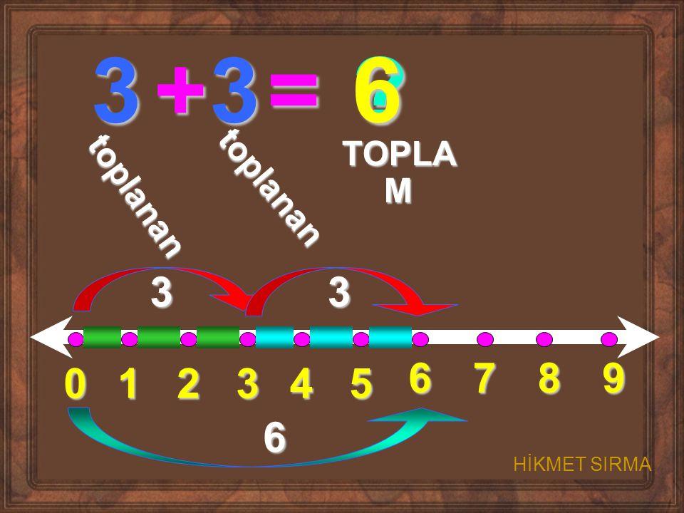 01234 5 6789 3+3= ? t o p l a n a n t o p l a n a n TOPLA M 33 6 6