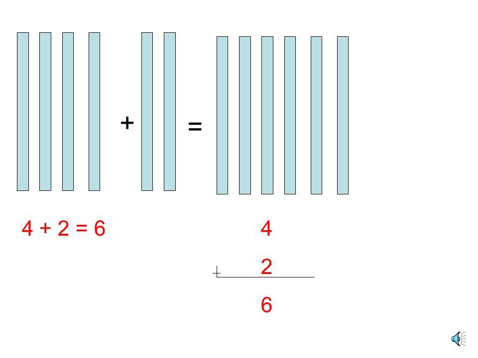 + 4 + 3 = 7 Toplanan Toplam
