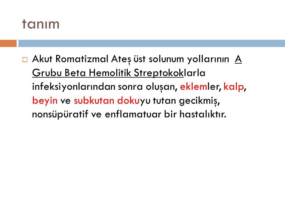  ARA gelişebilmesi için streptokok enfeksiyonunun bo ğ az enfeksiyonu şeklinde geçirilmesi gerekir.