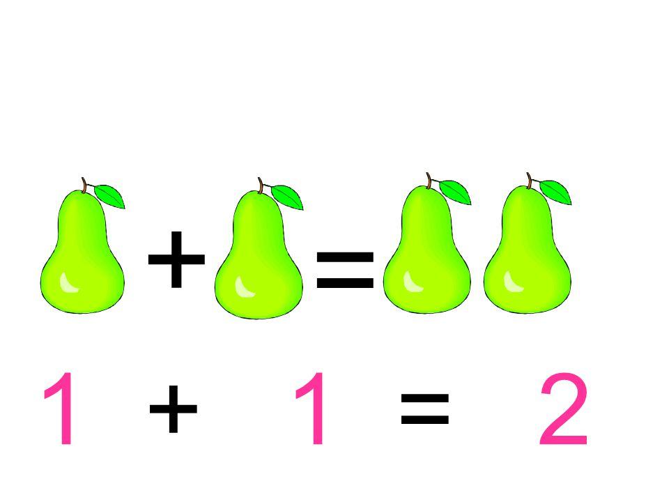 1 + 1 = 2 + =