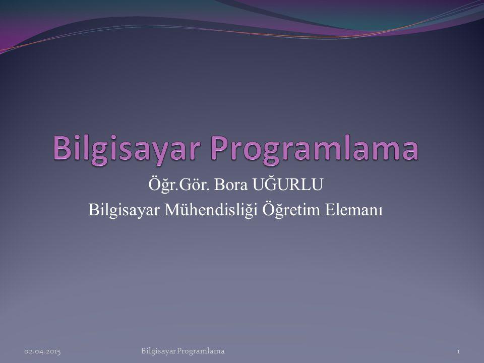 C Programlama Dili  C Dili oldukça küçük bir dildir.