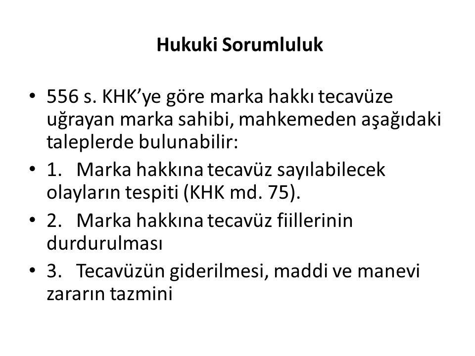 Hukuki Sorumluluk 556 s.