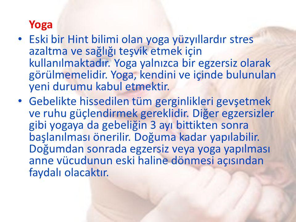 Yoga Eski bir Hint bilimi olan yoga yüzyıllardır stres azaltma ve sağlığı teşvik etmek için kullanılmaktadır. Yoga yalnızca bir egzersiz olarak görülm