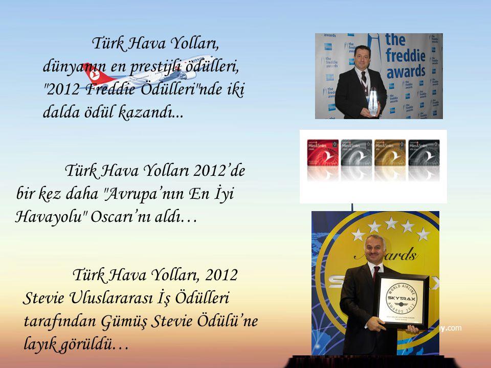 Türk Hava Yolları, dünyanın en prestijli ödülleri,