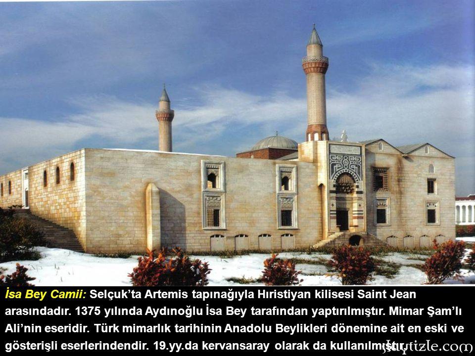 Bursa Ulu Camii: Bursa'nın en büyük camisi olan eser, 1400 yılında ibadete açılmıştır. Yıldırım Beyazıt tarafından Niğbolu Zaferi sonrası, savaşın gel