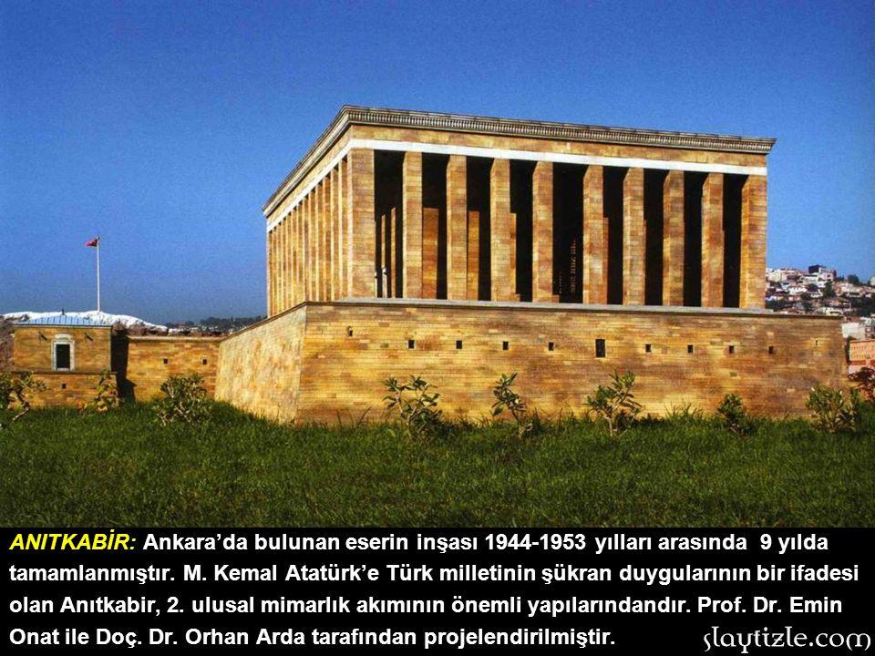 SELİMİYE CAMİİ Edirne'deki en görkemli Osmanlı yapısı olan Selimiye Camii, 2. Selim adına yapılmıştır. Mimar Sinan'ın ustalık dönemi eserlerindendir.