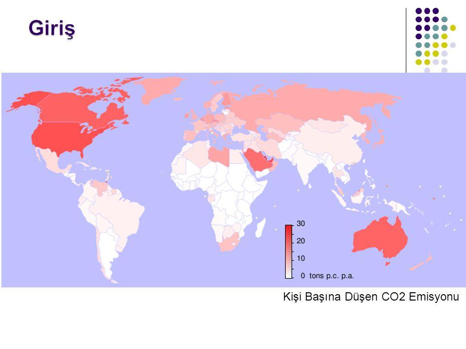 Kişi Başına Düşen CO2 Emisyonu