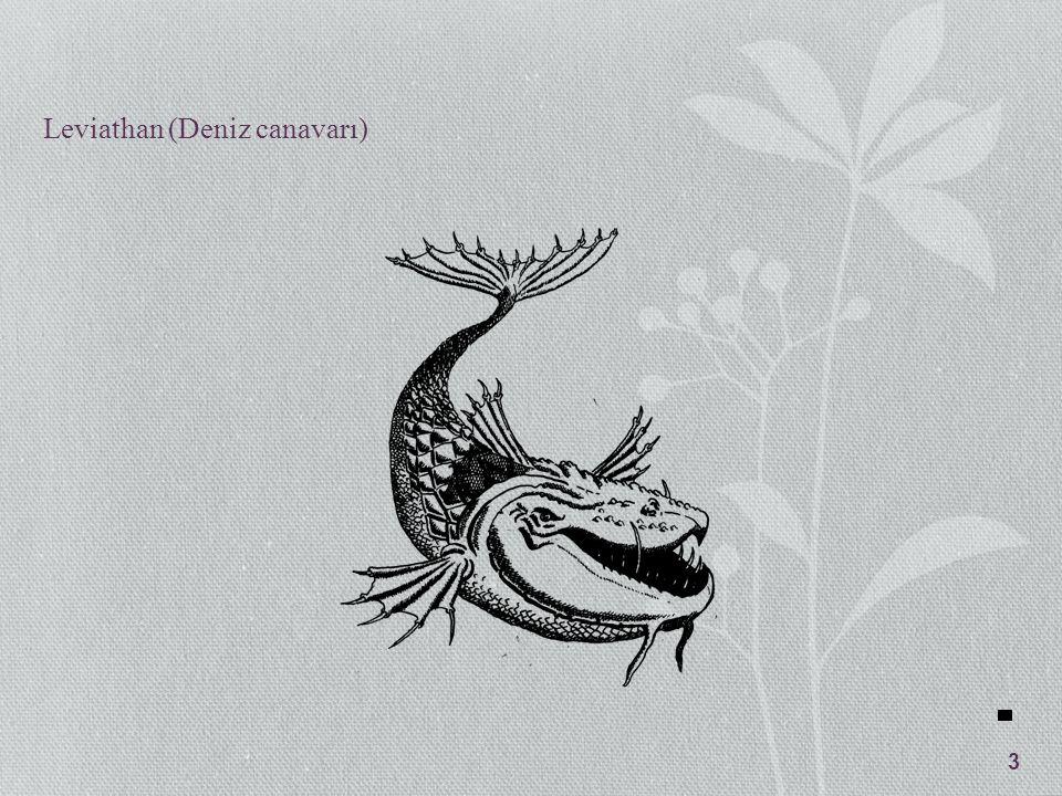 Toplum Sözleşmesi Sözleşmenin Özellikleri Leviathan güç kullanma tekelidir.