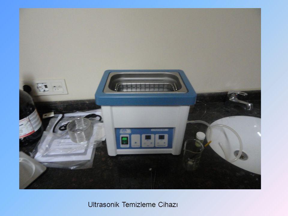 Ultrasonik Temizleme Cihazı