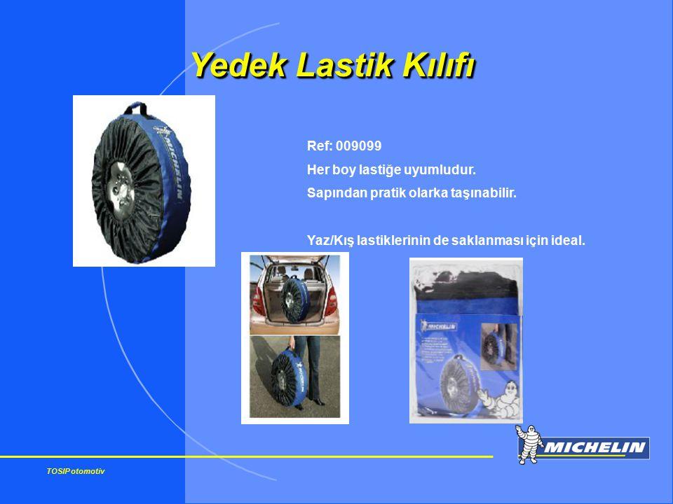 TOSIP otomotiv Yedek Lastik Kılıfı Ref: 009099 Her boy lastiğe uyumludur. Sapından pratik olarka taşınabilir. Yaz/Kış lastiklerinin de saklanması için