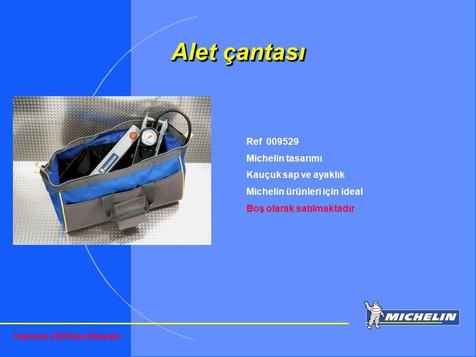 TOSIP otomotiv Alet çantası Ref 009529 Michelin tasarımı Kauçuk sap ve ayaklık Michelin ürünleri için ideal Boş olarak satılmaktadır Haziran 2005ten i