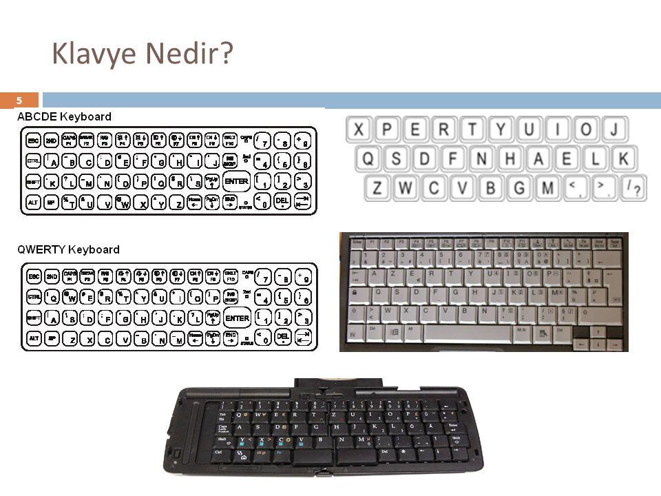 Klavye Nedir? 5
