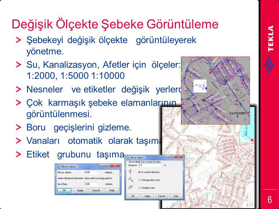 Arazide Düzenli Veri Toplama Mobil alet ile şebeke elemanları ve bakım onarım hakkında arazide düzenli veri toplama.