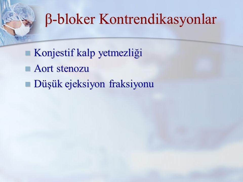 β-bloker Randomize Çalışmaları 1988 Stone.Anesthesiology 1988;68:495-500 1988 Stone.