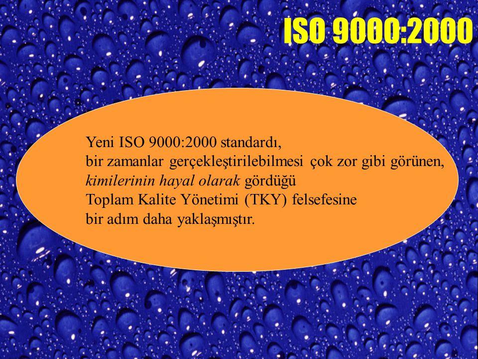 MODERN VE YARARLI TEKNİKLERİN KULLANILMASI MOTİVE EDİLMELİ ISO 9000:2000 GEREKSİNİMLERİ TRIZ PROSES MODELLEME