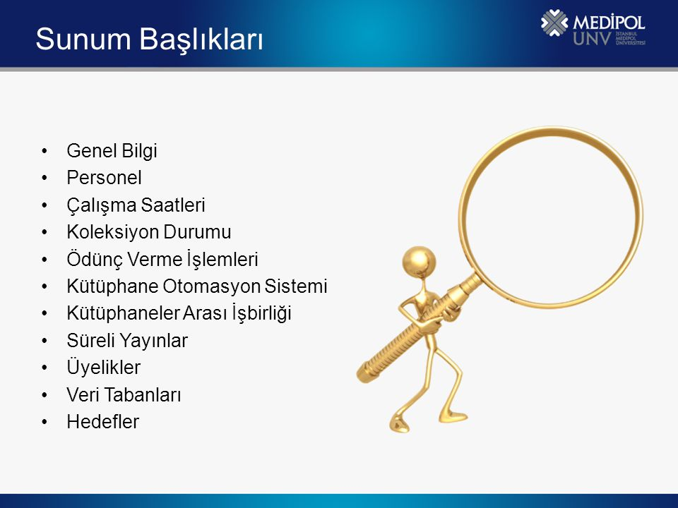 Veri Tabanları Abone Olunan Veri Tabanları; Ebsco  Health Source: Nursing/Academic Edition  History Reference Center  Humanities International Complete  Legal Collection  Library, Information Science & Technology Abstracts with Full Text  MasterFILE Complete  MEDLINE  Newspaper Source Plus