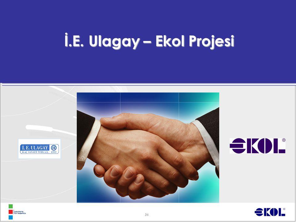 34 İ.E. Ulagay – Ekol Projesi
