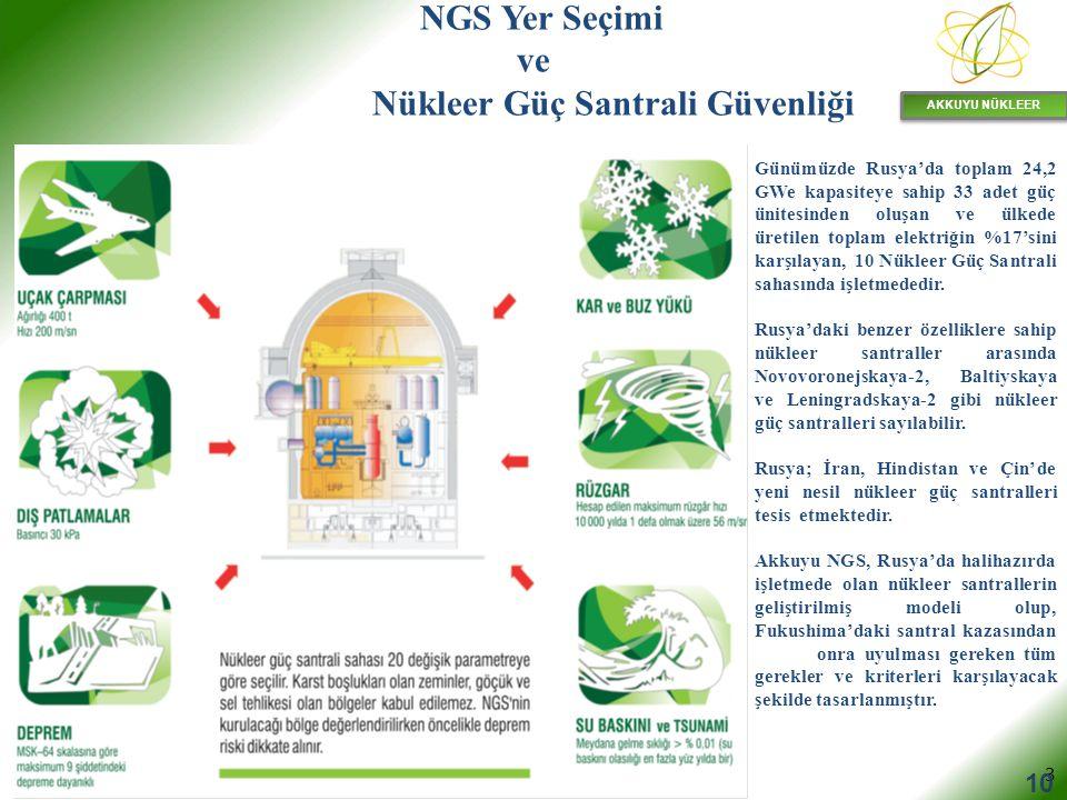 AKKUYU NÜKLEER 4 NGS DEPREM GÜVENLİĞİ Türkiye'nin sismik bölgeleme haritası Akkuyu NGS Türkiye'nin deprem açısından en güvenli bölgesindedir (en az deprem tehlikesi olan bölgesidir).