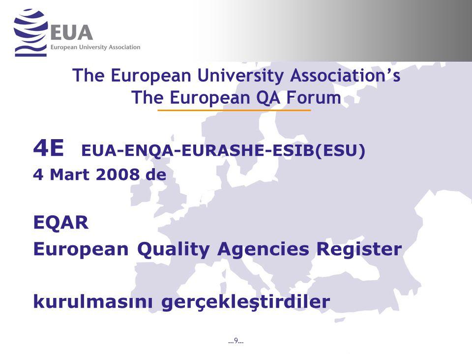 …30… EUA-IEP Sektör Düzeyinde Değerlendirme 3.4 Focus groups (3 Groups) Odak Grup tartışmalarına EUA-IEP den geçmiş üniversitelerin üst düzey temsilcilerinin (Rektör veya Rektör Yardımcısı), paydaşların birer temsilcilerinin katılması beklenmektedir.
