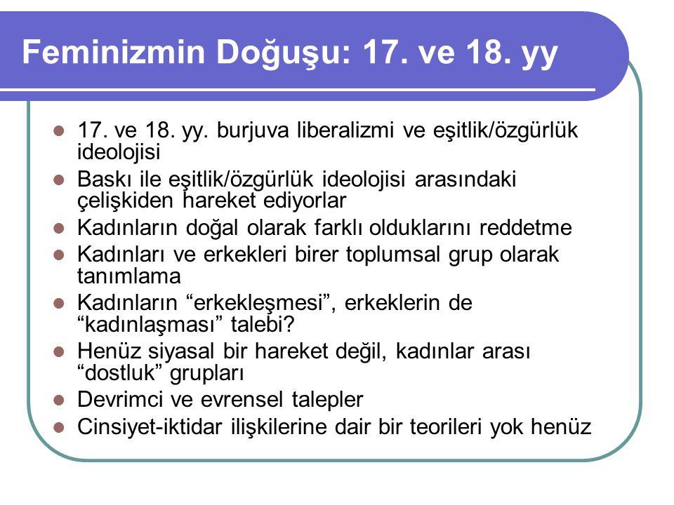 Osmanlı-Türkiye kadın hareketinde dönemler 19.yy.