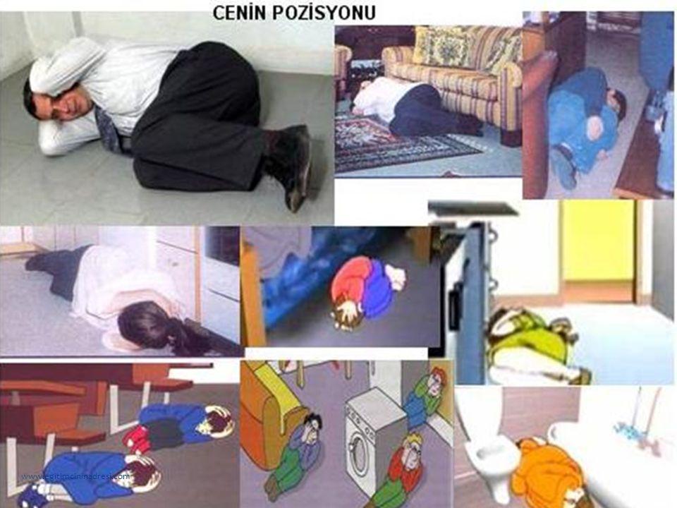 Arkadaşlar, acaba depreme karşı okulda nasıl önlemler alabiliriz? www.egitimcininadresi.com