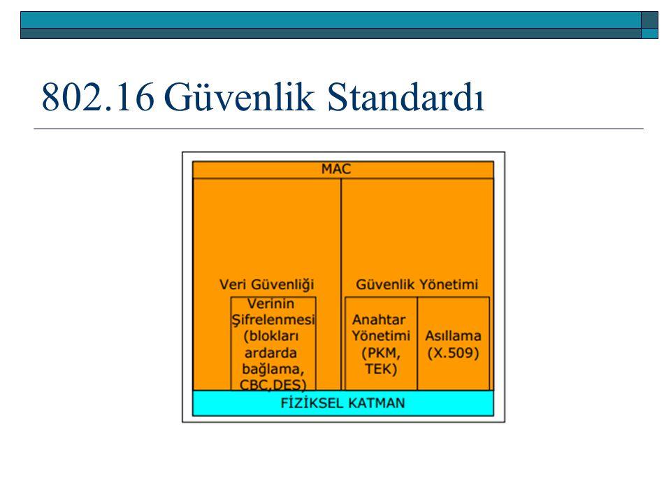 802.16 Güvenlik Standardı