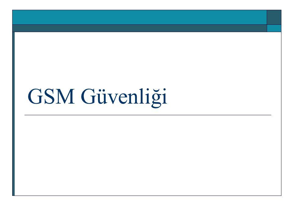 GSM Güvenliği