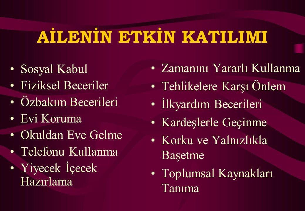 AİLE KATIMI YAKLAŞIMLARI UYGULAMALI AİLE EĞİTİMİ Y. Doç. Dr. Atilla Cavkaytar Anadolu Üniversitesi, Eğitim Fakültesi, Özel Eğitim Bölümü