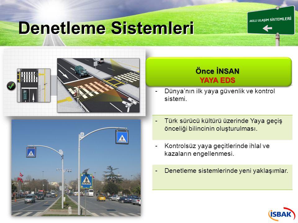 Denetleme Sistemleri -Noktasal radar sistemlerinden farklı olarak, caydırıcılığın tüm bir güzergah boyunca sağlanması.