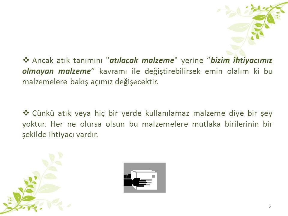 17 HEPİMİZ ÇEVRE GÖREVLİSİ OLALIM!!.
