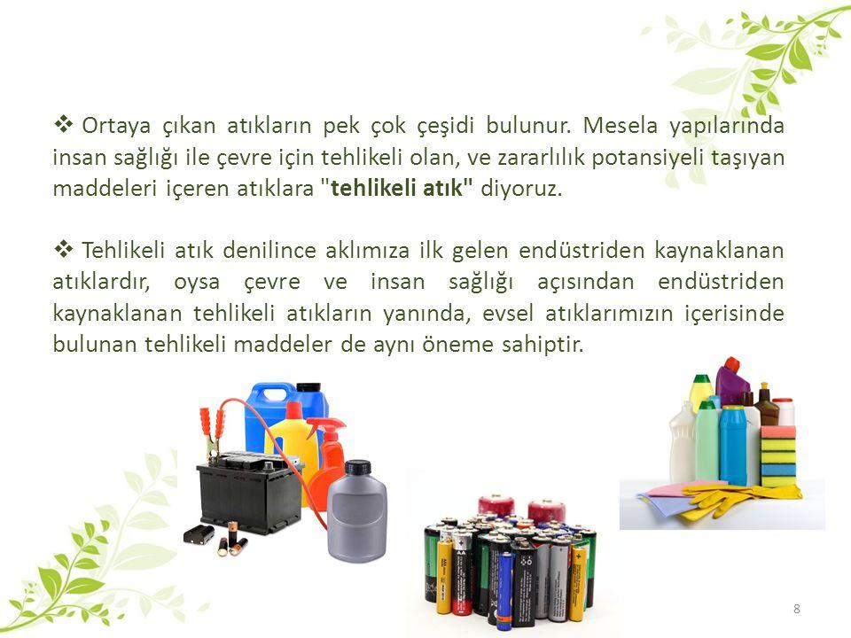  Hepimiz her gün, içerisinde tehlikeli maddeleri barındıran pek çok ürünü çeşitli amaçlarla evlerimizde kullanıyoruz.