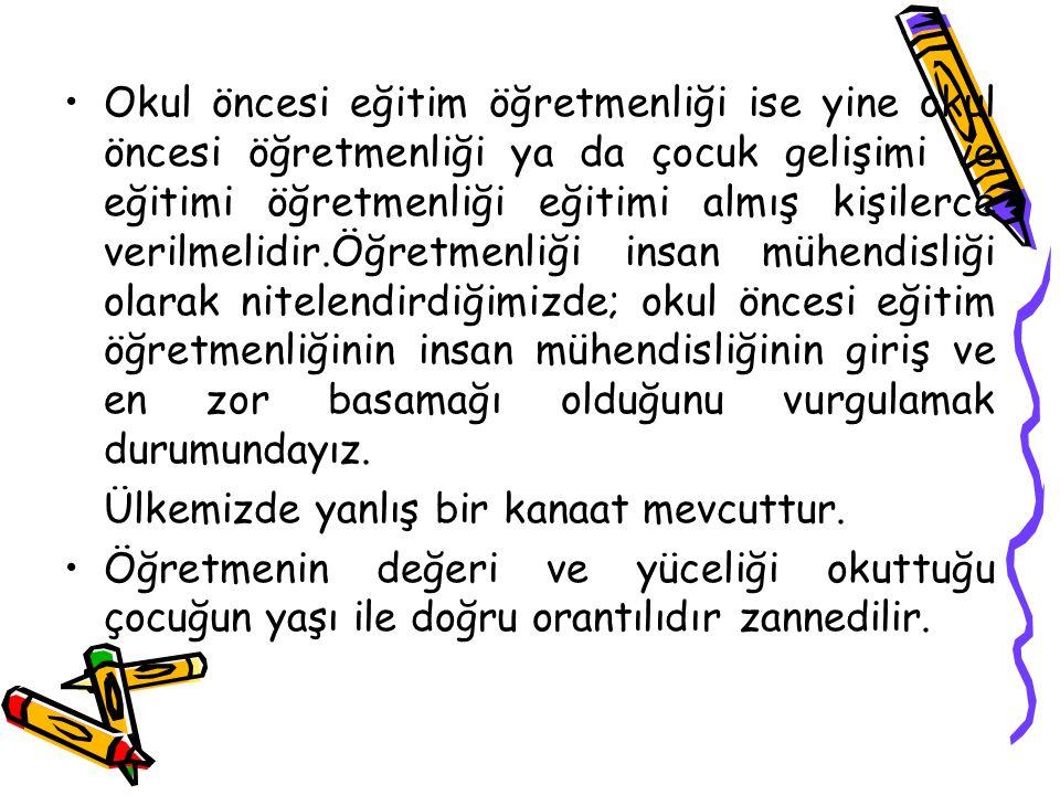 OKULÖNCESİ EĞİTİMİN AMAÇLARI Okul öncesi eğitimin amaçları, Türk Millî Eğitimin genel amaçlarına ve temel ilkelerine uygun olarak;