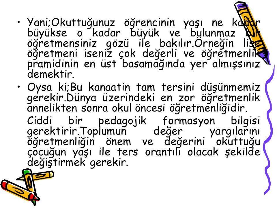 a) Çocukların; Atatürk, vatan, millet, bayrak, aile ve insan sevgisini benimseyen, millî ve manevi değerlere bağlı, kendine güvenen, çevresiyle iyi iletişim kurabilen, dürüst, ilkeli, çağdaş düşünceli, hak ve sorumluluklarını bilen, saygılı ve kültürel çeşitlilik içinde hoşgörülü bireyler olarak yetişmelerine temel hazırlamak amacıyla çaba göstermek,