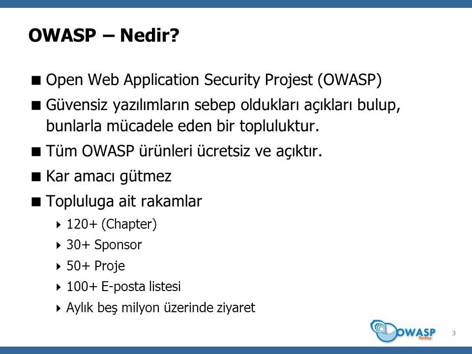 4 OWASP Neler Yapar.
