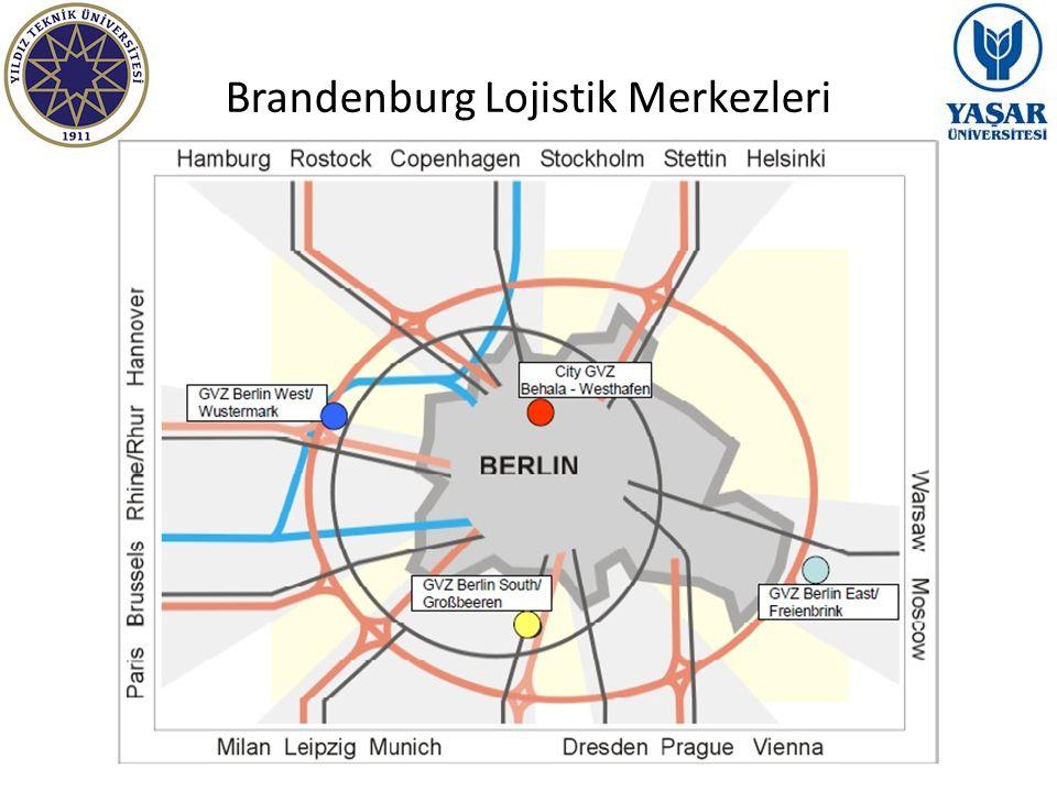Brandenburg Lojistik Merkezleri
