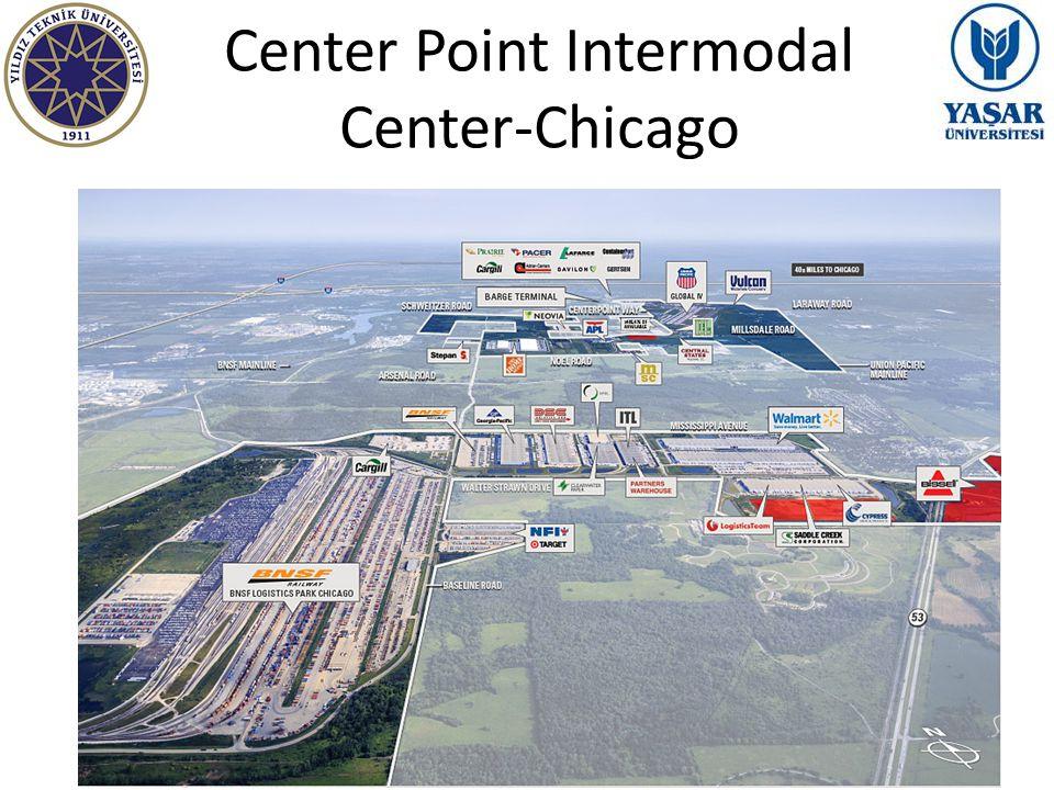 Center Point Intermodal Center-Chicago