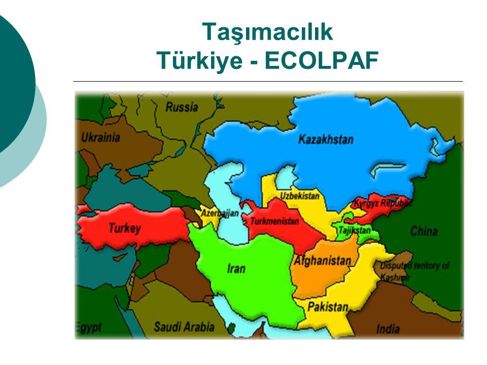 Taşımacılık Türkiye - ECOLPAF