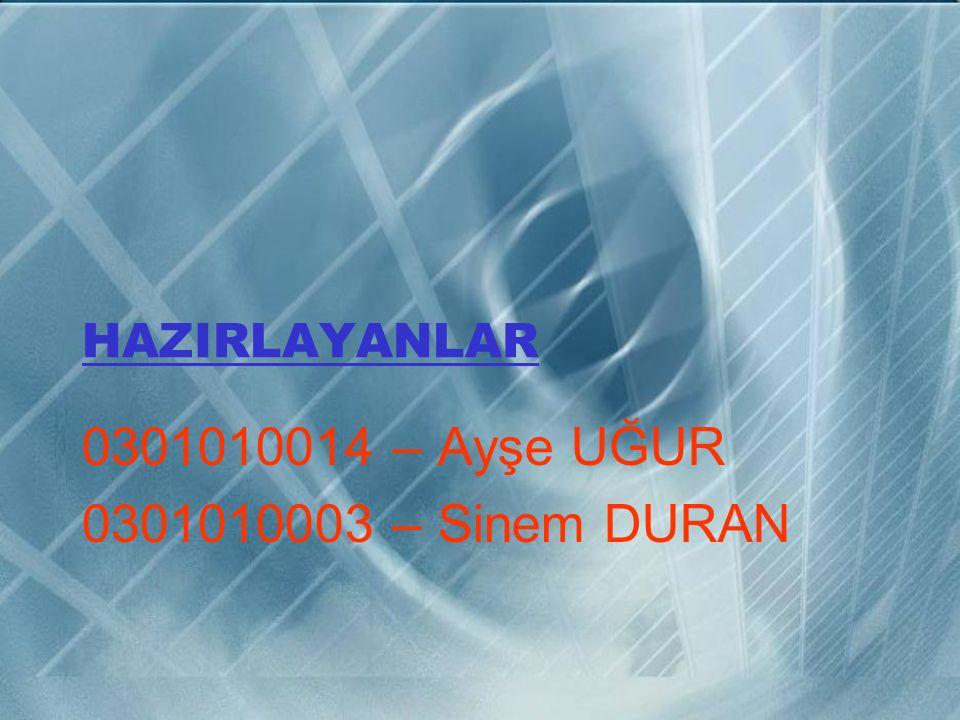 KAYNAKLAR www.matematikciler.com www.world-mysteries.com www.mimoza.marmara.edu.tr www.metu.edu.tr