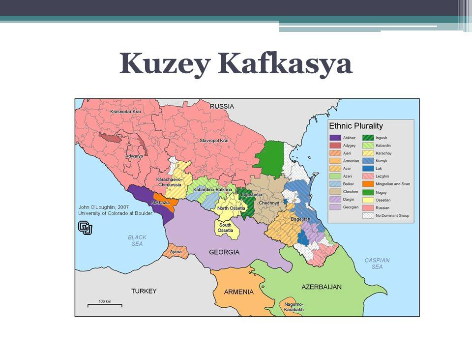 Kuzey Kafkasya Federal Bölgesi- 2010 Rus nüfusun en az olduğu bölge Müslüman nüfusun en fazla olduğu bölge Federal bütçeden en fazla yardım alan bölge Rusya'nın en istikrarsız bölgesi