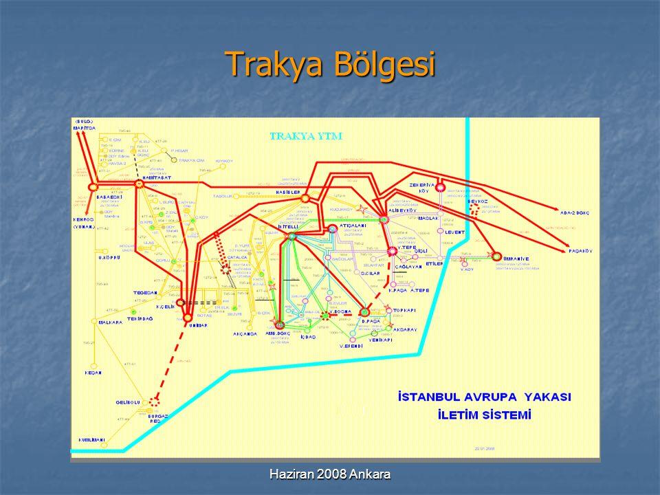 Haziran 2008 Ankara Trakya Bölgesi