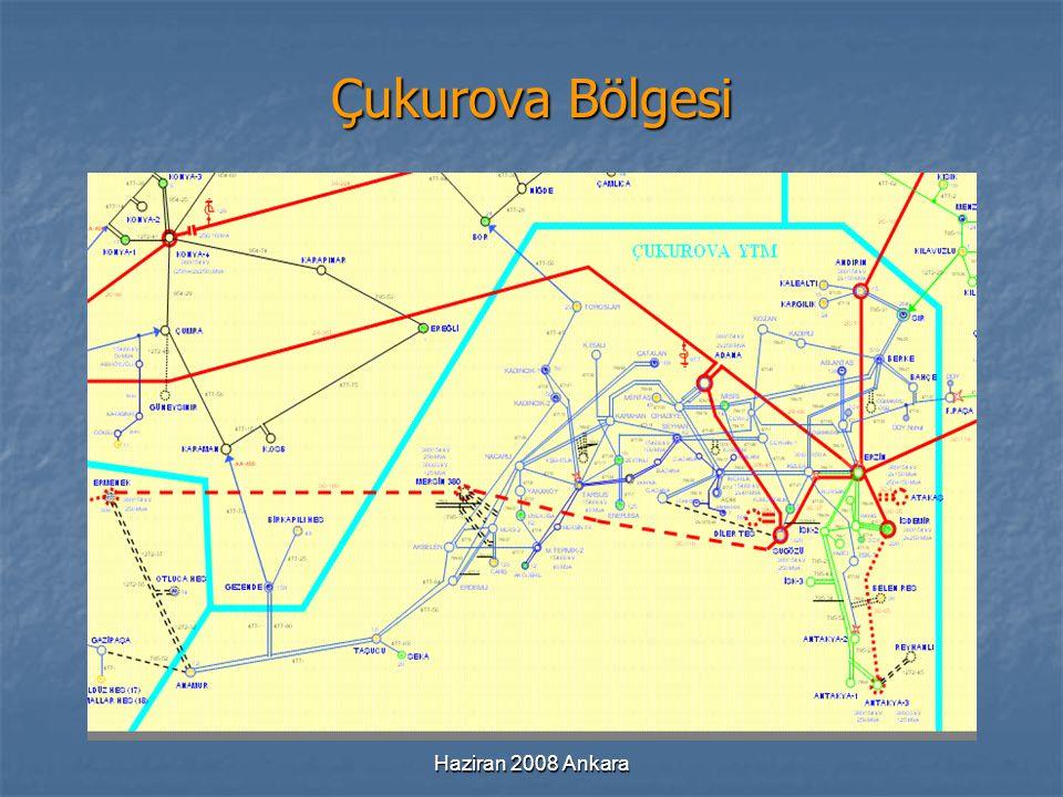 Haziran 2008 Ankara Çukurova Bölgesi