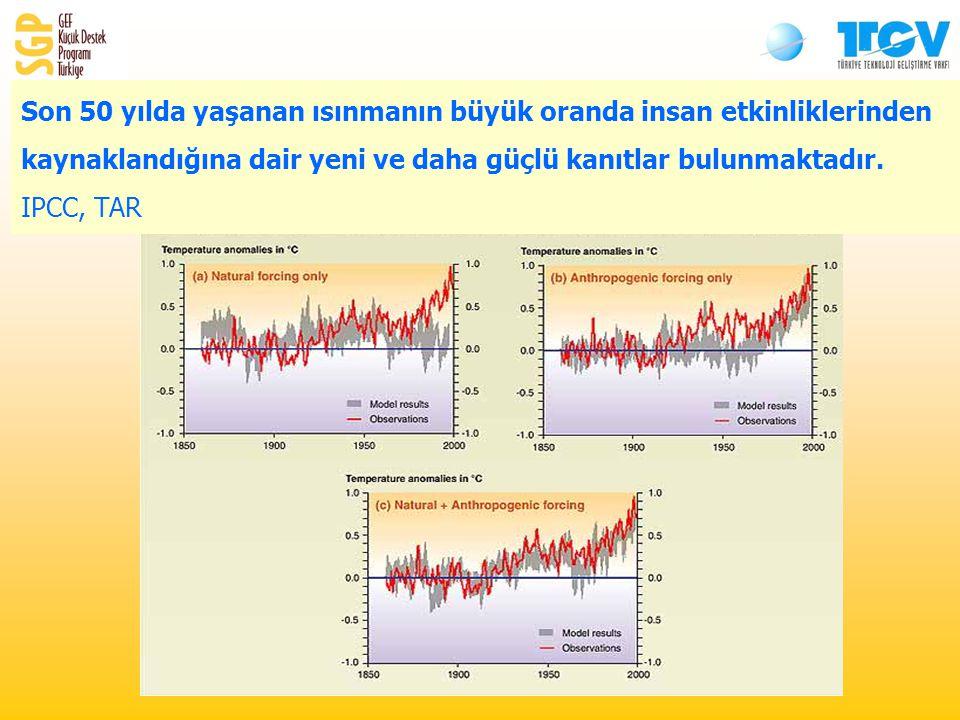 Son 50 yılda yaşanan ısınmanın büyük oranda insan etkinliklerinden kaynaklandığına dair yeni ve daha güçlü kanıtlar bulunmaktadır.