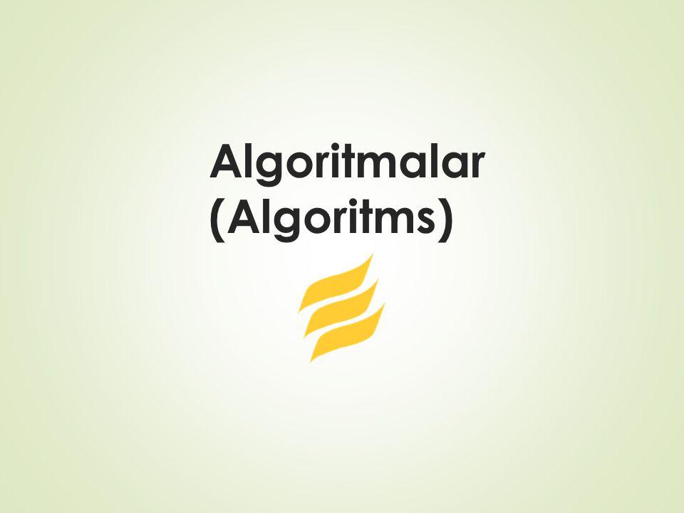 Soru-4  Aşağıda verilen algoritmadaki değişkenlerin aldıkları değerleri tek tek belirtiniz.