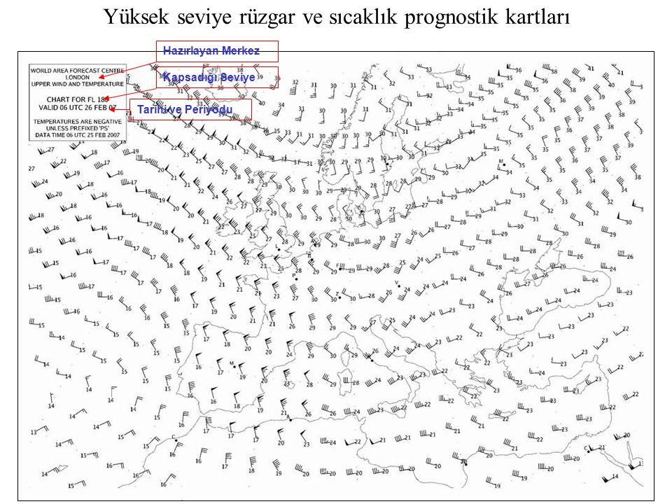 Yüksek seviye rüzgar ve sıcaklık prognostik kartları Hazırlayan MerkezKapsadığı SeviyeTarihi ve Periyodu