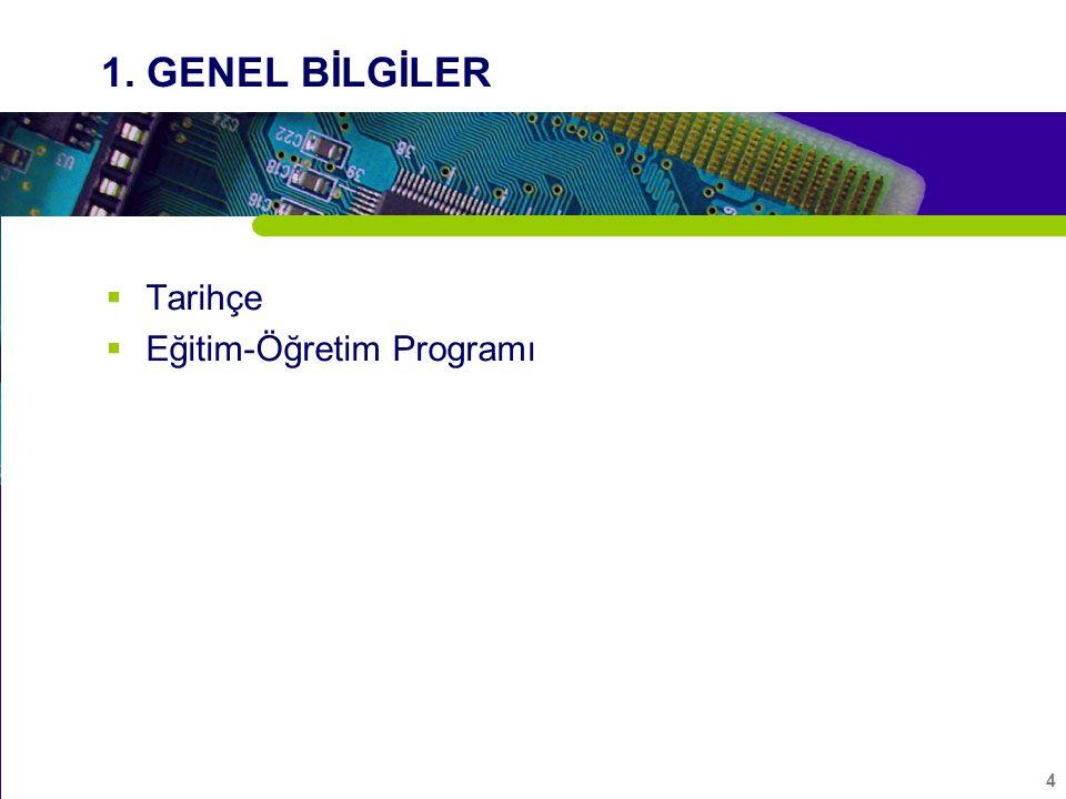 5 Tarihçe  Elektrik-Elektronik Mühendisliği Bölümü; Mühendislik Fakültesi nin bir bölümü olarak 1995 yılında kurulmuştur.