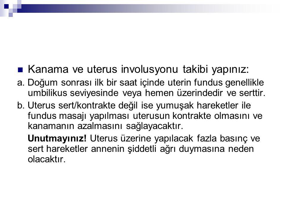 B.Laboratuvar Hemoglobin ölçümü (postpartum 6.